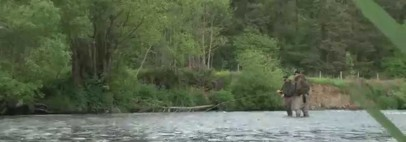 Spring Salmon Spey and Switch Fishing with Snowbee on a Devon river
